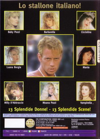 The best of Rocco Siffredi back cover