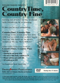 Country Time, Country Fine back cover