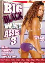 Big Black Wet Asses!  3 front cover