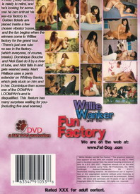 Willie Wanker And The Fun Factory back cover