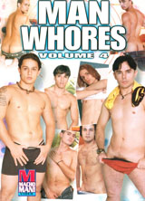 Man Whores #4 front cover