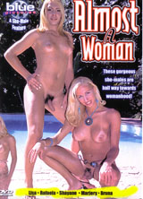 Almost A Woman porn dvd cover