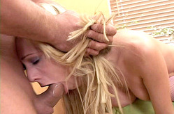 Blonde Anal Threesome
