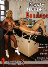 Nasty Nurse in Bondage front cover