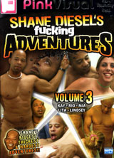 Shane Diesel's Fucking Adventures   Volume 3 front cover
