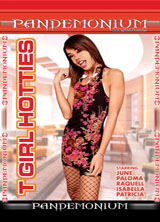 T-Girl Hotties porn dvd cover