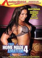 True Home Made Amateur #4 porn dvd cover