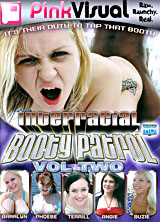 Interracial Booty Patrol #2 porn dvd cover