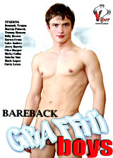 Bareback Graffiti Boys porn dvd cover