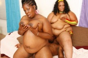 Fat Ebony Girls Sucking & Fucking