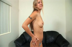 Small blonde Kaycee goes mad cowgirl on a big bro's cock, Sc&egrave;ne 2