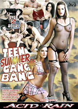 Teen Summer Gang Bang front cover