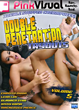 Double Penetration Tryouts #5 front cover
