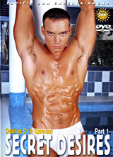 Desires of a Gymnast Secret Desires Part 1 porn dvd cover