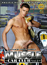 Muscle Car Club Vol. 2 porn dvd cover
