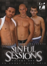 Sinful Sessions Vol. 1 porn dvd cover