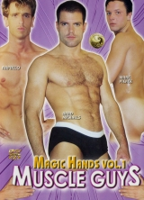 Magic Hands Vol.1 Muscle Guys front cover