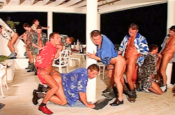 Sausage Fest porn scene