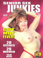 Senior Sex Junkies vol. 2 DVD Cover