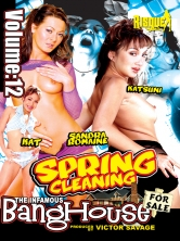The Infamous BangHouse Vol.12 Spring Cleaning Part 1 DVD Cover