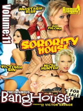 The Infamous BangHouse Vol 11 Sorority House Part 3 DVD Cover