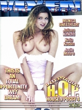 Interracial House Of Pussy vol 4 DVD Cover