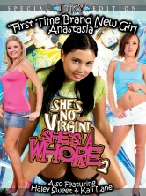 She's No Virgin She's A Whore #2 DVD Cover