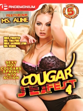 Cougar Sex Fest #4 DVD Cover