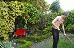Minding the garden